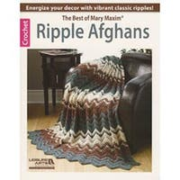Ripple Afghans-The Best Of Mary Maxim - Leisure Arts