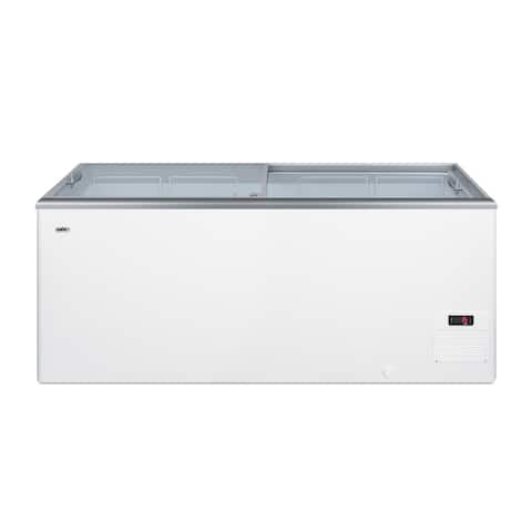"""Summit NOVA53 Commercial 60"""" Wide 16.6 Cu. Ft. Capacity Food & - White"""