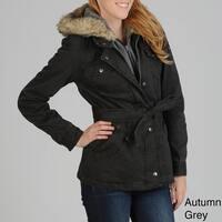 Buffalo Women's 2-Tone Cotton Coat