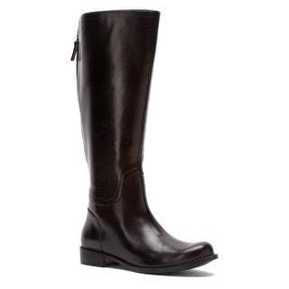 Nine West Womens Contigua (Wide Calf) Leather Closed Toe Knee High Fashion Bo...