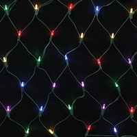 Celebrations 7005003S-02AC Mini  LED Light String, Multicolored