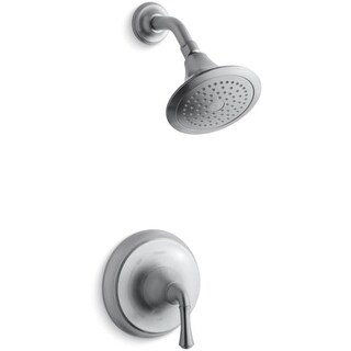 Kohler K-TS10276-4A Rite-Temp Pressure-Balancing Shower Faucet Trim with Traditional Lever Handle from the Forte Collection