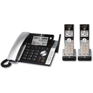 At&t cl84215 corded/cordless itad 2 handsets