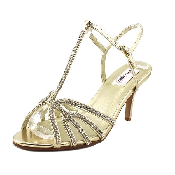 Dyeables Lexi Women Open Toe Synthetic Gold Sandals