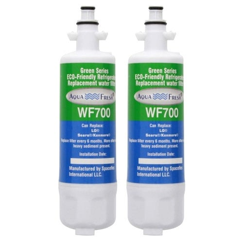 Replacement LG LFXC24726D Refrigerator Water Filter by Aqua Fresh (2 Pack)