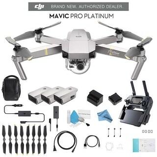 DJI Mavic Pro Platinum Fly More Combo CP.PT.00000069.01