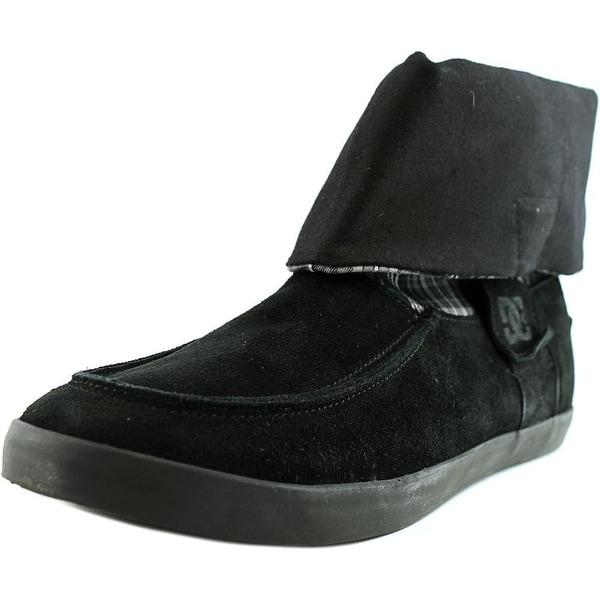 DC Shoes Twilight Women Moc Toe Suede Black Boot