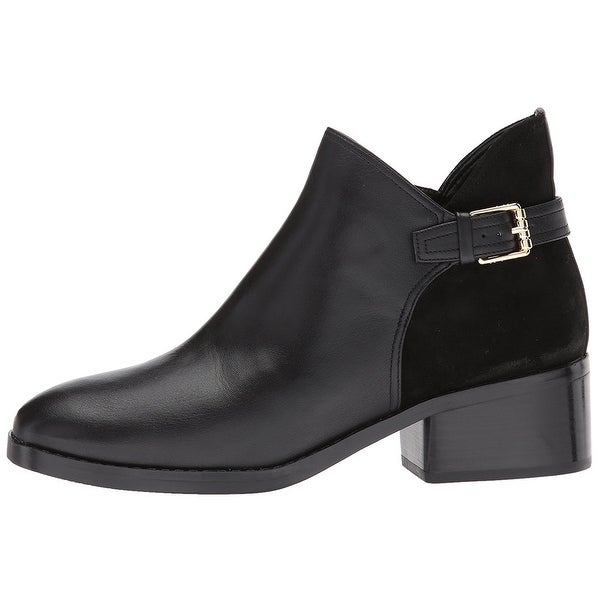 Cole Haan Womens Althea Bootie Leather Closed Toe Ankle Fashion Boots