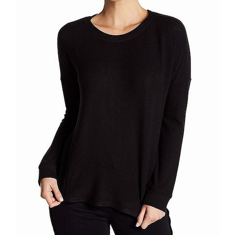 Free Press Top Womens Small Knit Brushed Pullover