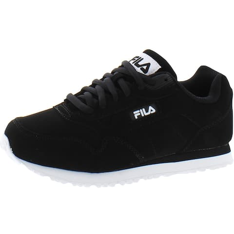 Fila Womens Cress Casual Sneakers Faux Leather Fitness