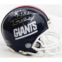 Shawna Waldron New York Giants Throwback Riddell Mini Helmet wIcebox