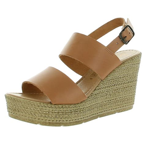 Seychelles Womens Downtime Espadrilles Leather Ankle - Vacchetta Leather - 8.5 Medium (B,M)