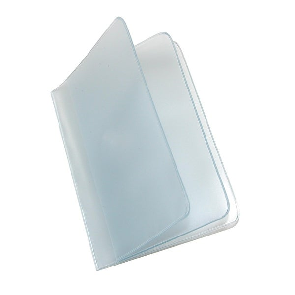 Buxton Vinyl Window Inserts for Bifold and Trifold Wallets (Pack of 4) - one size