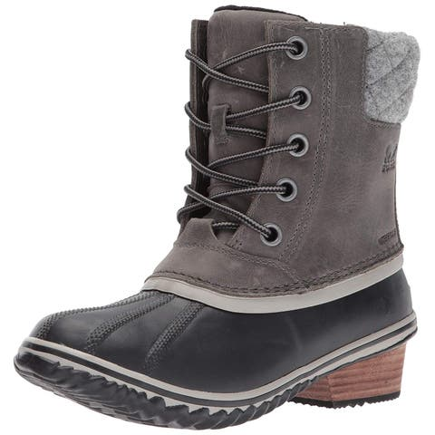 Sorel Womens Slimpack Cap Toe Mid-Calf Cold Weather Boots