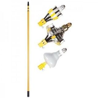 Light Bulb Changer Kit - 8 Unit Floor Display - 11 ft. Steel Pole