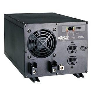 """Tripp Lite PV2000FCB Tripp Lite PV2000FC Industrial Inverter 2000W 12V DC to AC 120V RJ45 5-15R 2 Outlet"""