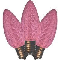 Holiday Bright Lights BU25LEDFC9-TPKA Christmas C9 LED Replacement Bulb, Pink