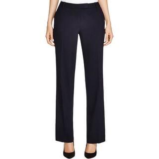 d19cdd3d239e7 Calvin Klein Womens Straight Leg Pants Modern Fit Flat Front. Quick View