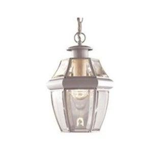 Boston Harbor 8067H-WH Single Light Hanging Lantern, White
