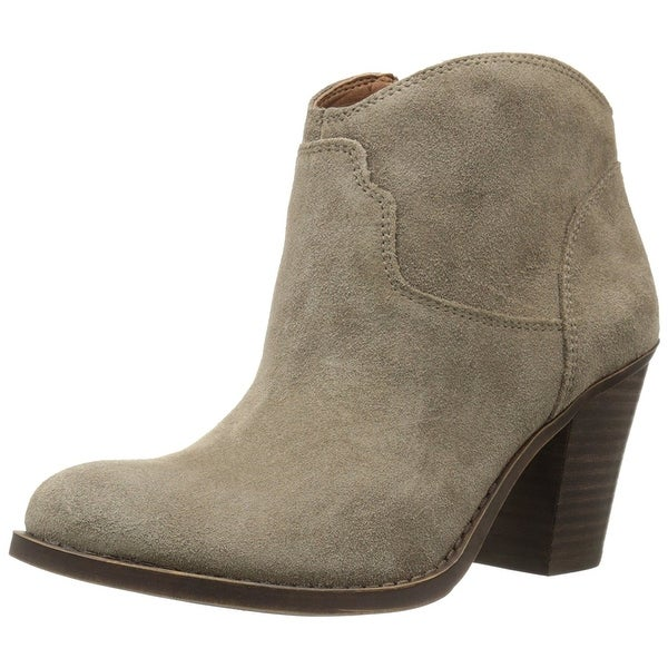 Lucky Brand Womens LK-Eller Almond Toe Ankle Fashion Boots