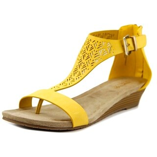 Kenneth Cole Reaction Great Gal 3 Open Toe Synthetic Wedge Sandal