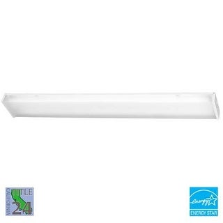 Minka Lavery ML 1011-PL 2 Light Energy Star Ceiling Fixture from the All Purpose Fluorescent Utility Collection