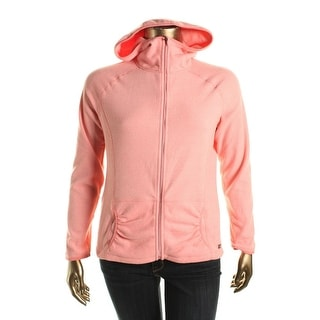 Calvin Klein Performance Womens Ruched Pocket Long Sleeves Jacket - XL