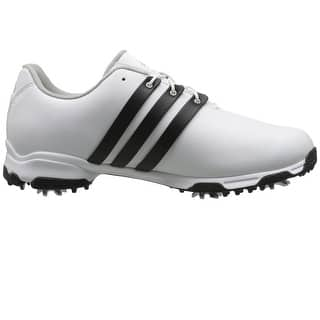 Adidas Men's Pure TRX White/CoreBlack/White Golf Shoes F33237 / F33314|https://ak1.ostkcdn.com/images/products/is/images/direct/f5bc10a61e379e47c822dbf2e790adc8ea5ff4d8/Adidas-Men%27s-Pure-TRX-White-CoreBlack-White-Golf-Shoes-F33237---F33314.jpg?impolicy=medium