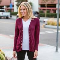 Cozy Snap Button Cardigan in 3 Colors