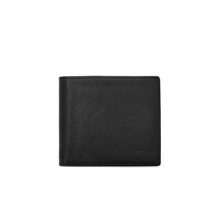 ORBIT Mens Leather Orbit Tracking and Phone Charging Slim Bifold Wallet - One size