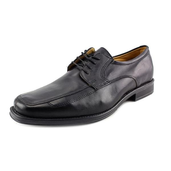 Giorgio Brutini Darcy Men Apron Toe Leather Black Oxford