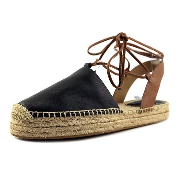 58a8c42da74 Shop Coach Womens Rita Leather Closed Toe Casual Espadrille Sandals ...