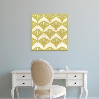 Easy Art Prints June Erica Vess's 'Cottage Leaves I' Premium Canvas Art