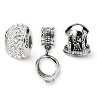 Sterling Silver Reflections Wedding & Anniversary Boxed Bead Set