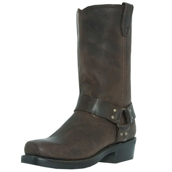 Dingo Motorcycle Boots Mens Jay Harness Gaucho Nutty Mule