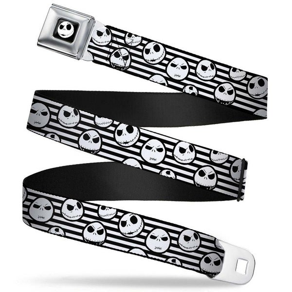 Jack Expression2 Full Color Nightmare Before Christmas Jack Expressions Seatbelt Belt