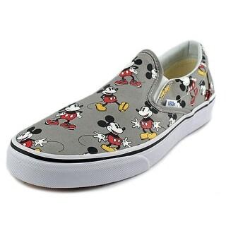 Vans Classic Slip-On Round Toe Canvas Skate Shoe