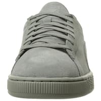Puma Womens Classic Tonal Suede Low Top Lace Up Fashion Sneakers - 10