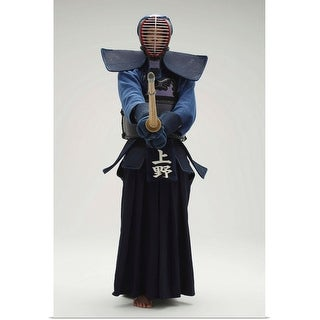 """Portrait of a Kendo Fencer"" Poster Print"