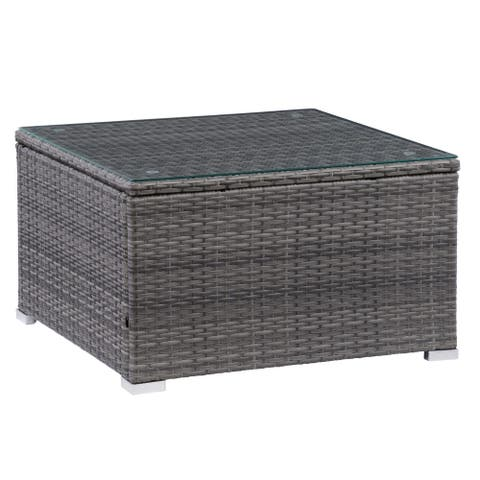 CorLiving Grey Parksville Patio Coffee Table