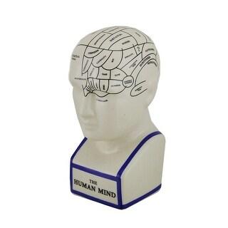 Off White Phrenology Head Porcelain Coin Bank