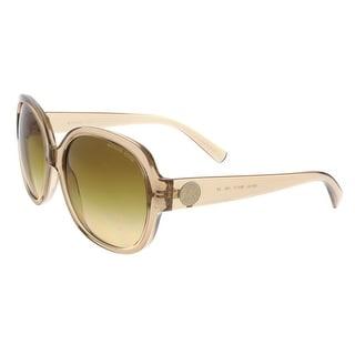 Michael Kors MK6021 CORTE 30512L Brown Crystal Square Sunglasses
