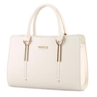 90da525a6c2 White Handbags | Shop our Best Clothing & Shoes Deals Online at ...