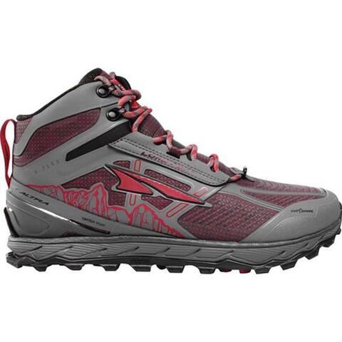 Altra Footwear Men's Lone Peak 4.0 Mid RSM Trail Running Shoe Gray