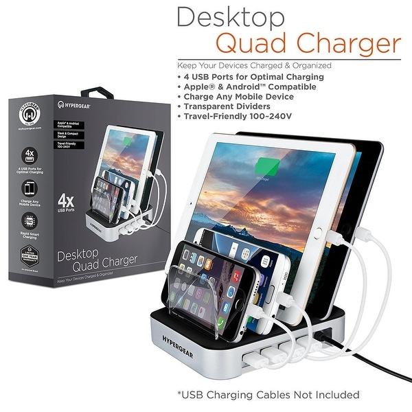 HyperGear 4-Port USB Charging Station Dock