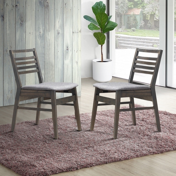 Porter Leather Chair Set Of 2: Shop Costway Set Of 2 Dining Side Chairs Armless PU