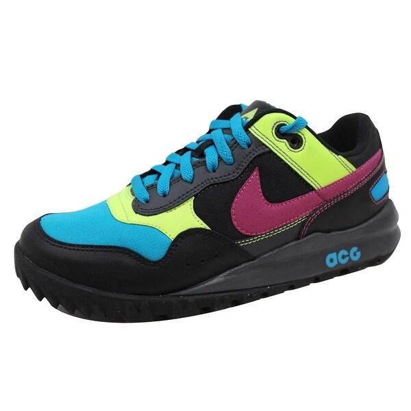Nike Men's Wild Peg Black/Rave Pink-Neo Turquoise 343741-061