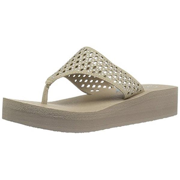 3c9cf030aa6 Shop Skechers Cali Women s Vinyasa  Flow Wedge Sandal