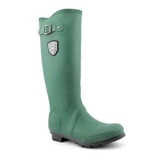 Kamik Jennifer Women  Round Toe Synthetic Green Rain Boot
