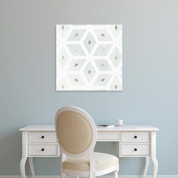 Easy Art Prints Victoria Borges's 'Seaglass Tiles I' Premium Canvas Art